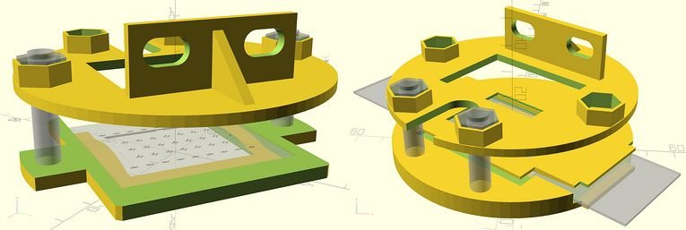 TransiDupe scad OpenSCAD Transparency Duplicator